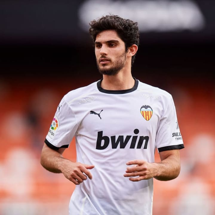 Goncalo Guedes looks to be on his way out of Valencia