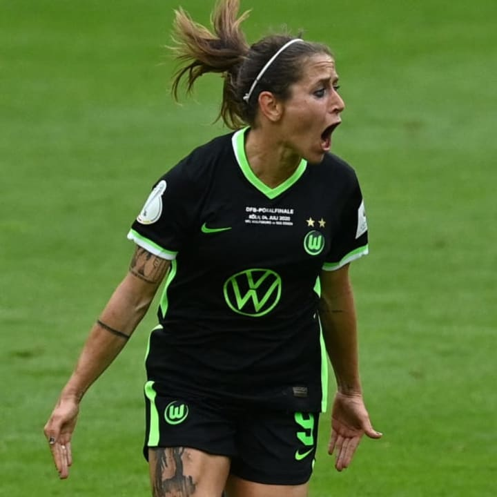 Torschützin im DFB-Pokalfinale 2020: Anna Blässe