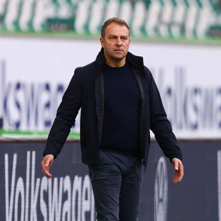 Hansi Flick leaves Bayern this summer having led the club to two Bundesliga titles