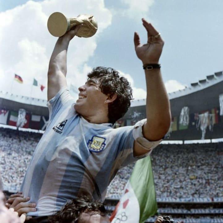 WORLD CUP-1986-MARADONA