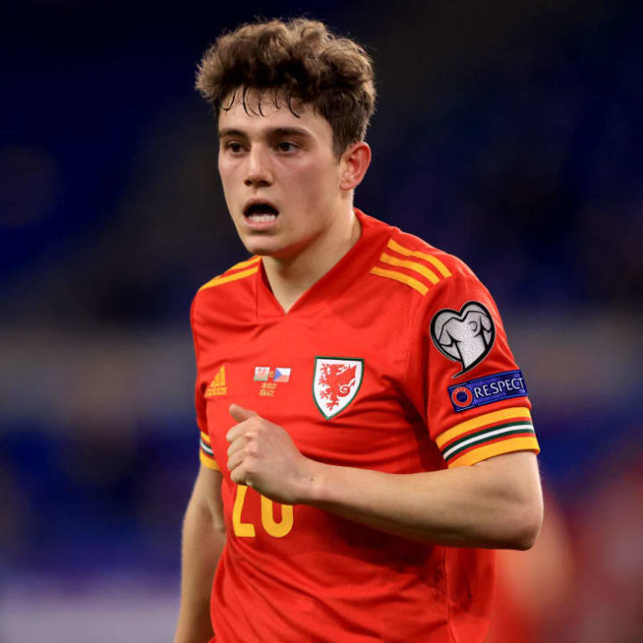 Daniel James is a starter for Wales
