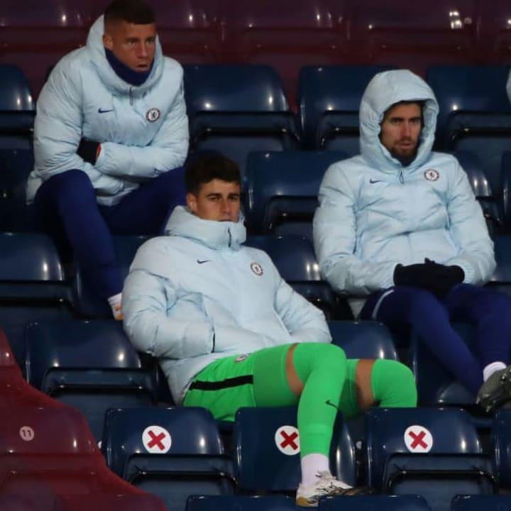 Kepa Arrizabalaga, Jorginho, Ross Barkley