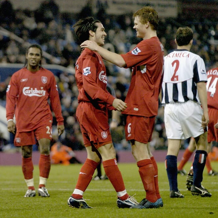 Liverpool strolled to victory in 2004