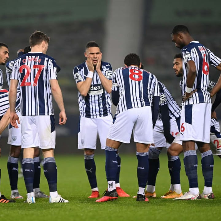The Baggies struggled defensively