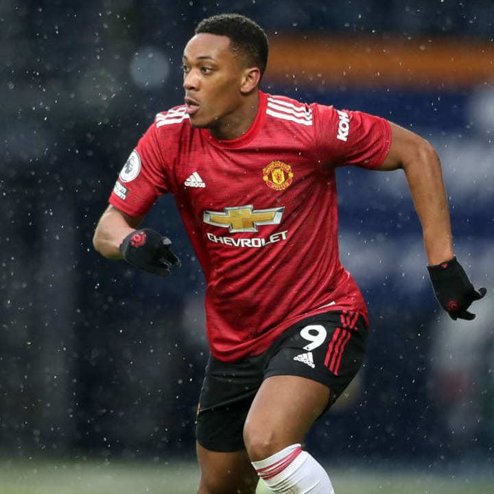 Anthony Martial has a poor season in 2020/21