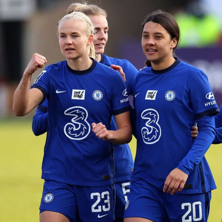 The WSL has attracted world class players like Pernille Harder & Sam Kerr