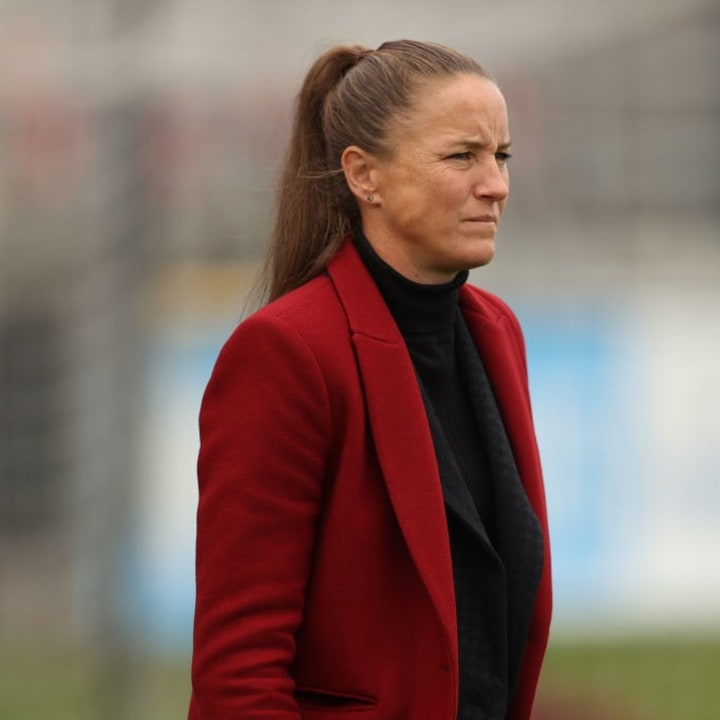 Casey Stoney says there is belief Man Utd can match top sides