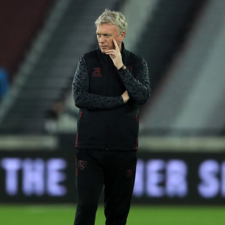David Moyes wants more options in attack