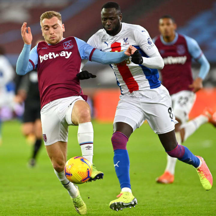 Kouyate has fully adapted to playing in the back four