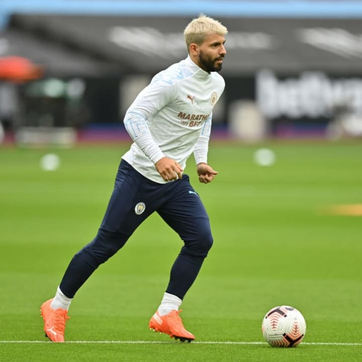 Man City are looking for a long-term replacement for Sergio Aguero