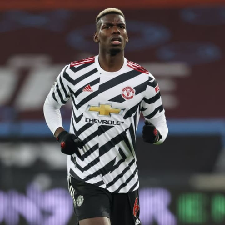 Pogba played down transfer speculation as recently as October