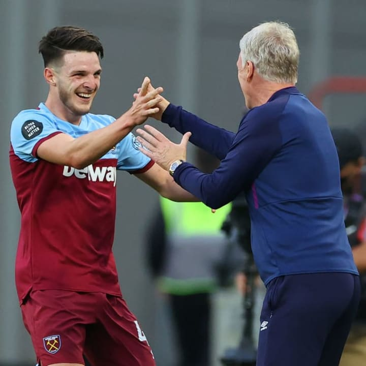 Declan Rice, David Moyes