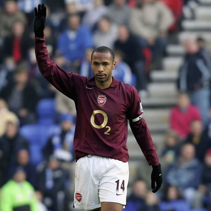 Thierry Henry vs Wigan in 2005