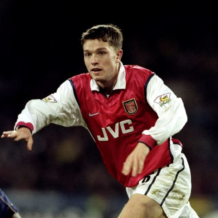Stephen Hughes only made one appearance in 1994/95