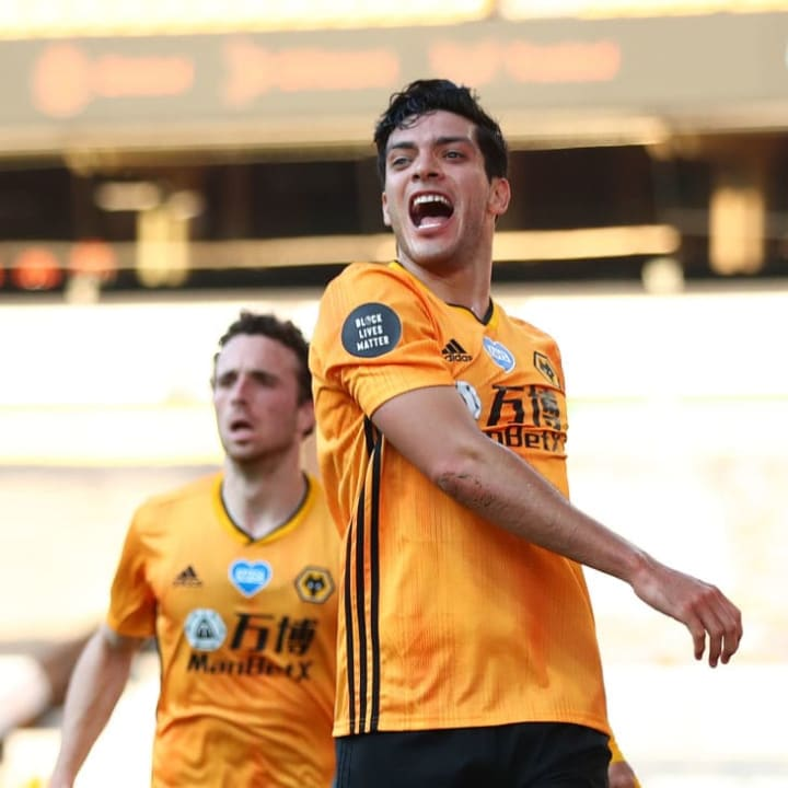 Raul Jimenez got on the scoresheet again against Bournemouth