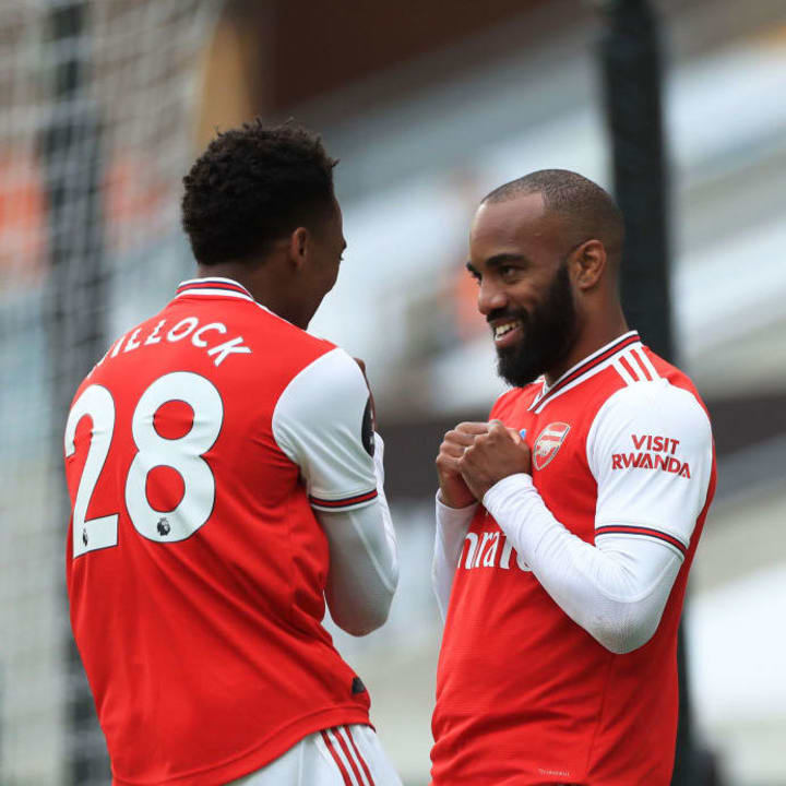 Alexandre Lacazette, Joe Willock
