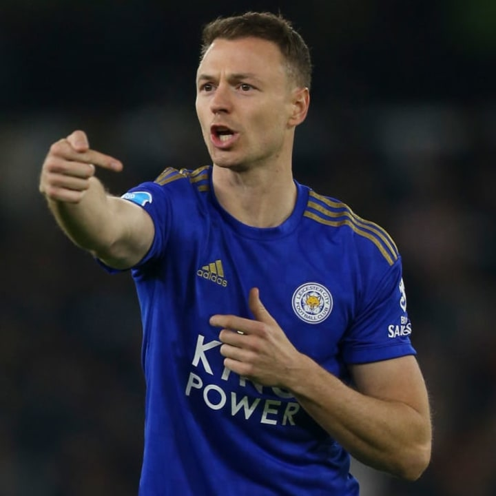 Evans has only gotten better with age in Leicester's defence