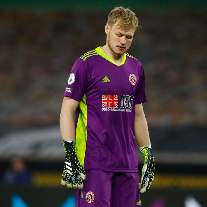 Aaron Ramsdale cleaned up at the Sheffield united end of season awards