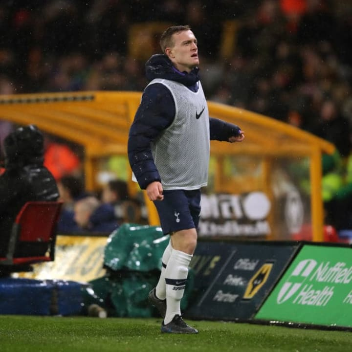 Skipp hasn't had many opportunities this season, despite receiving praise from José Mourinho.