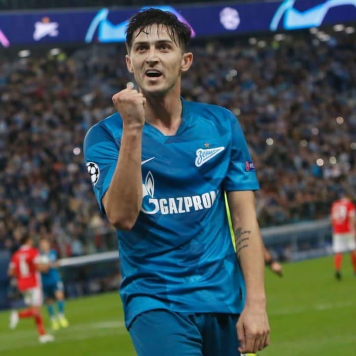 Azmoun has been prolific for Zenit since 2019