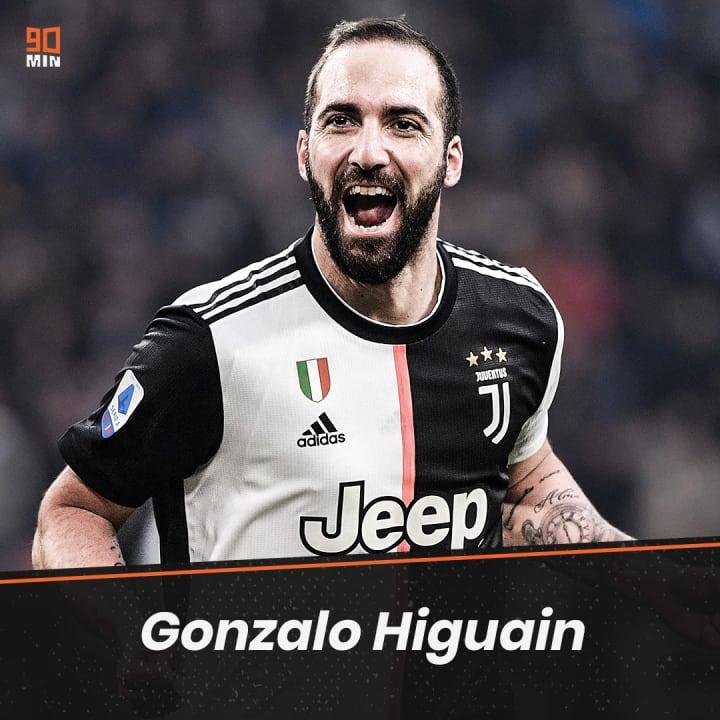 Gonzalo Higuaín ne poursuivra certainement pas avec la Juventus.