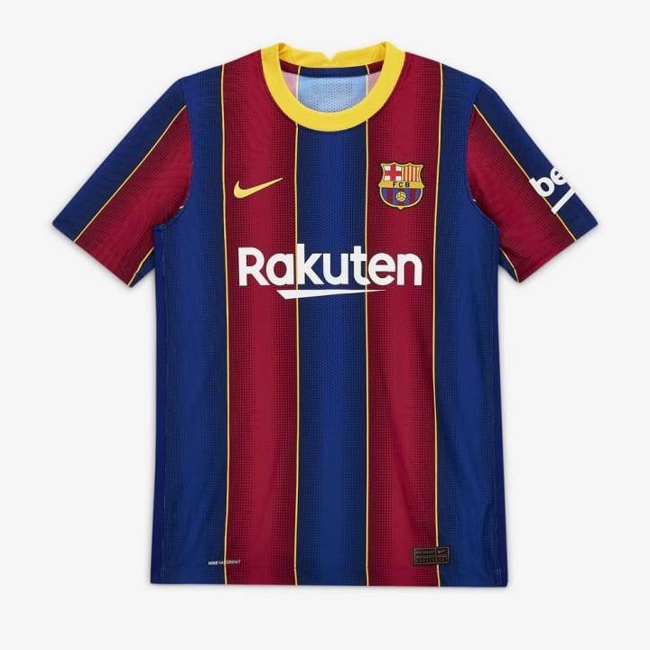 Nova camisa do Barça para 2020/21 tem problemas de fabricação