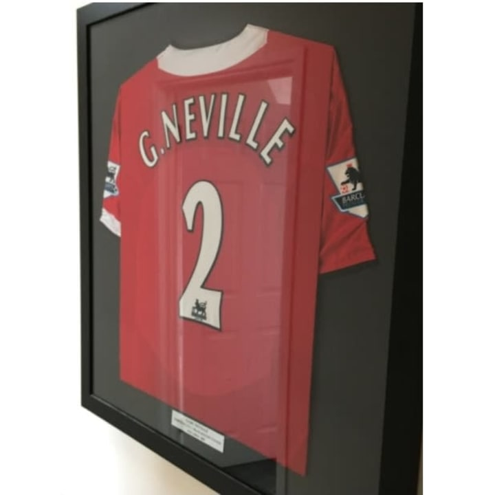 Gary Neville wore this shirt against Norwich in 2005