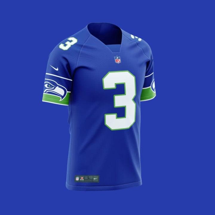 Seahawks New Uniform Concept Design on Reddit Looks Amazing