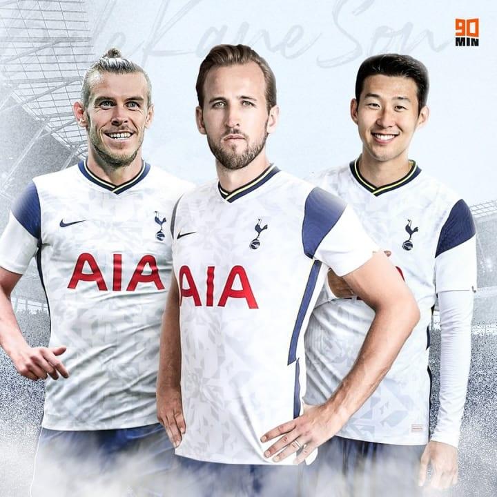 Der neue Spurs-Dreizack: Bale, Kane & Son