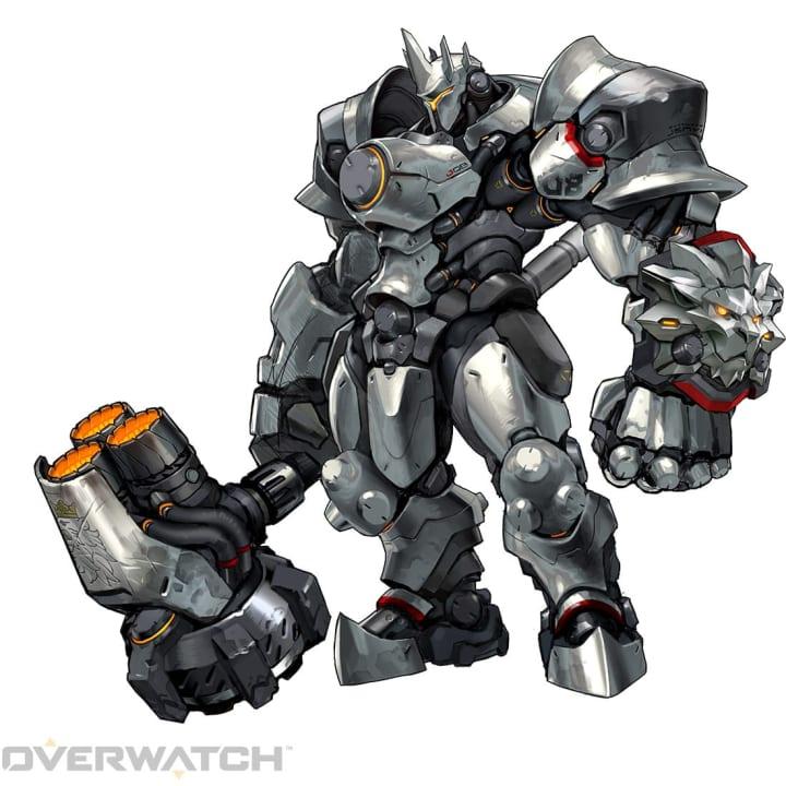 Reinhardt Overwatch Tank B-Tier September 2021