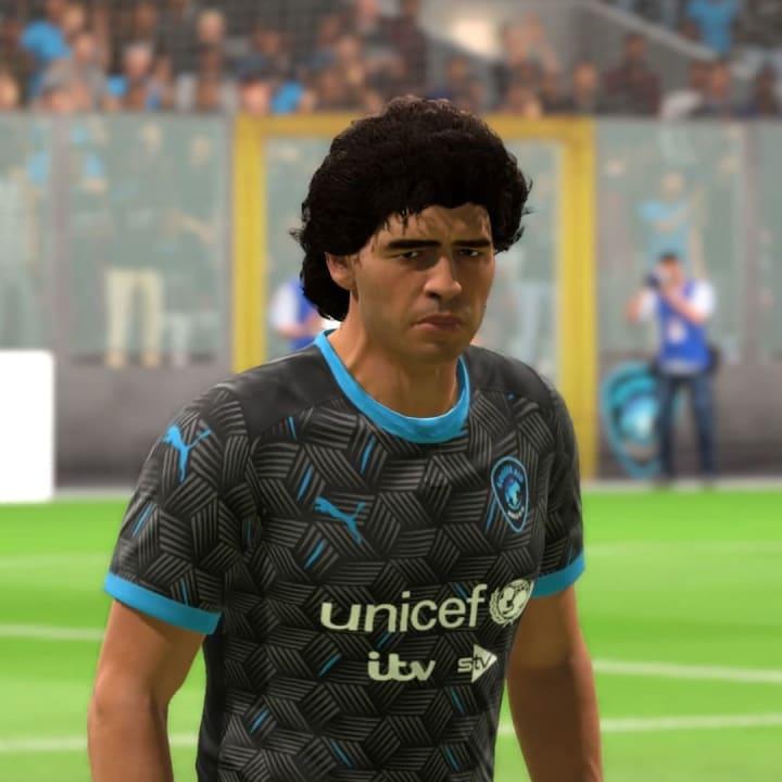 Diego Maradona will be part of the team