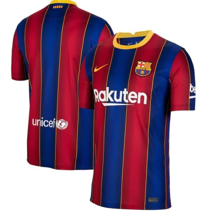 Le maillot du FC Barcelone a de quoi convaincre de nombreux supporters.