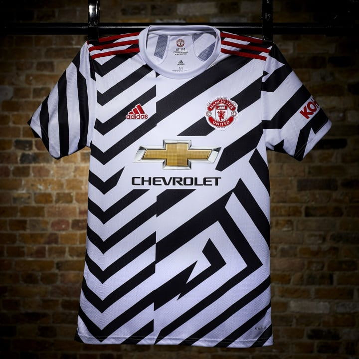 Man Utd Launch 2020/21 adidas Third Shirt With 'Disruptive ...