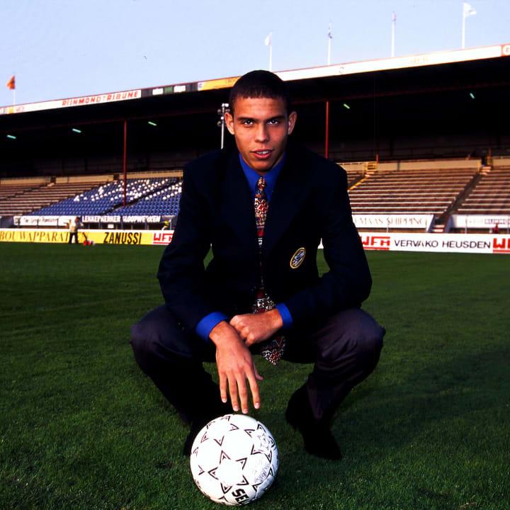 Ronaldo Nazário PSV Centroavante Seleção brasileira Copa do Mundo