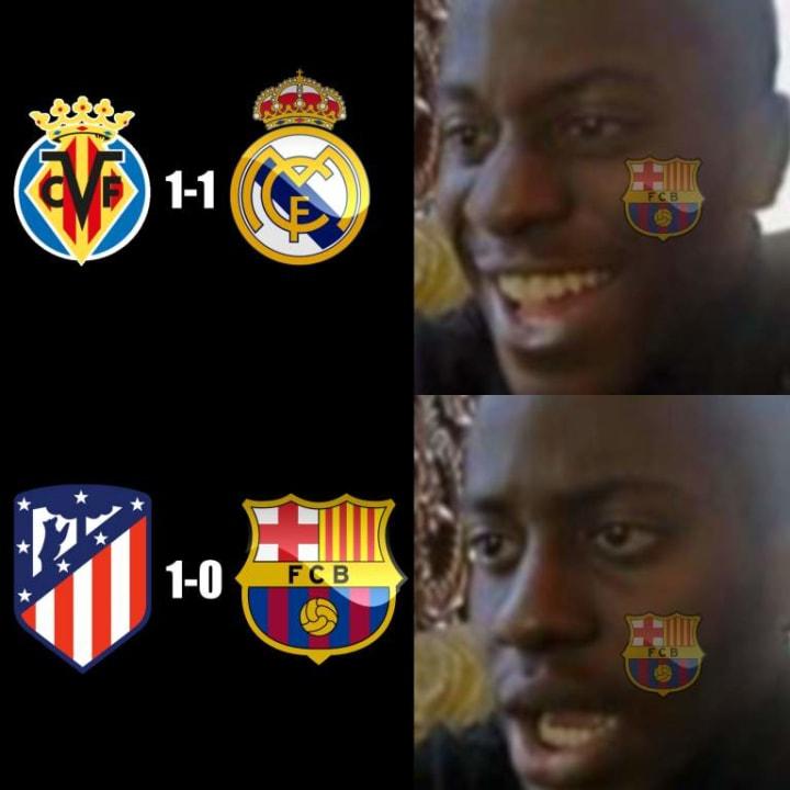 Los aficionados del FC Barcelona quedaron perplejos tras la derrota