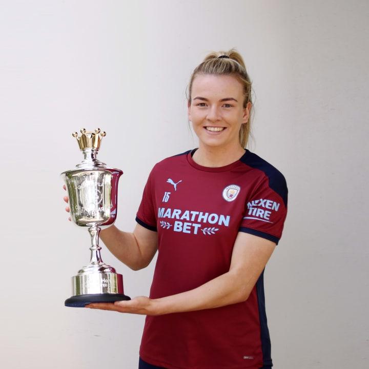 Hemp won her third PFA award