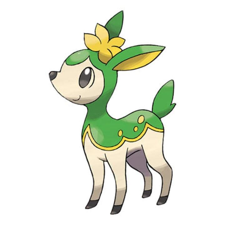 Pokemon summer deerling sprite