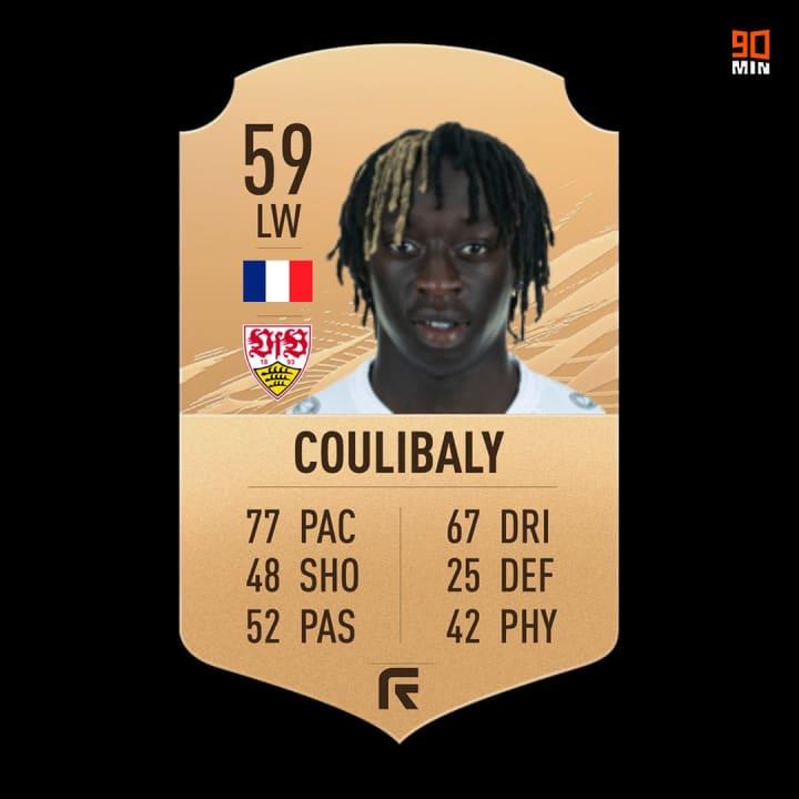 Die FIFA-21-Karte von Coulibaly