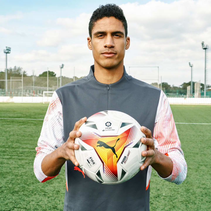 Raphael Varane was part of the launch