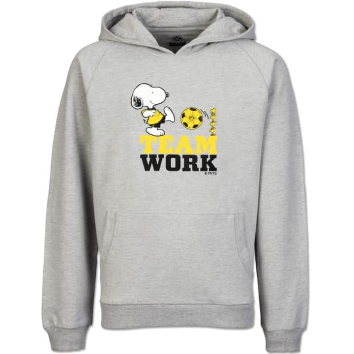 Snoopy-Hoodie mit Teamwork