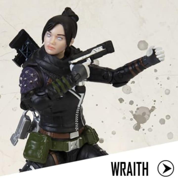 The Wraith figurine.
