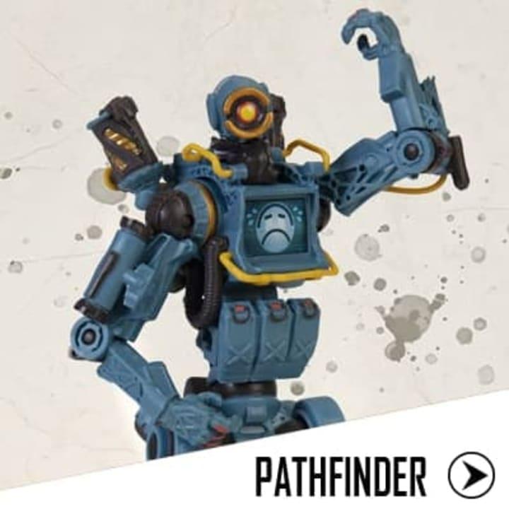 The Pathfinder figurine.