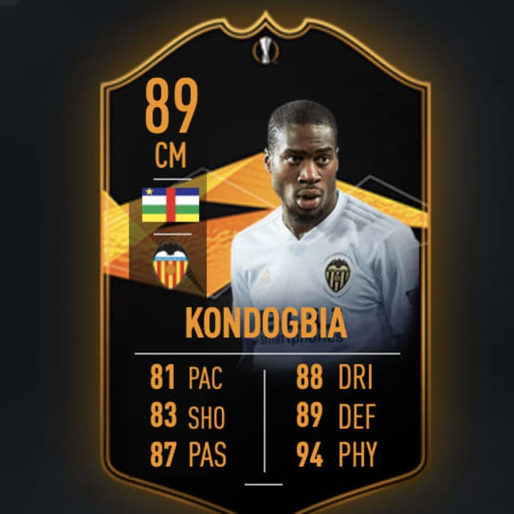 The card would most likely celebrate his FIFA 19 Europa League Road to the Final Card, which reached 89 rated after upgrades.