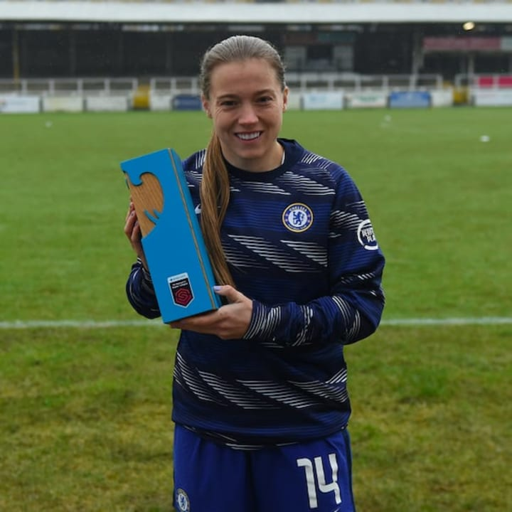 Fran Kirby is January's player of the month