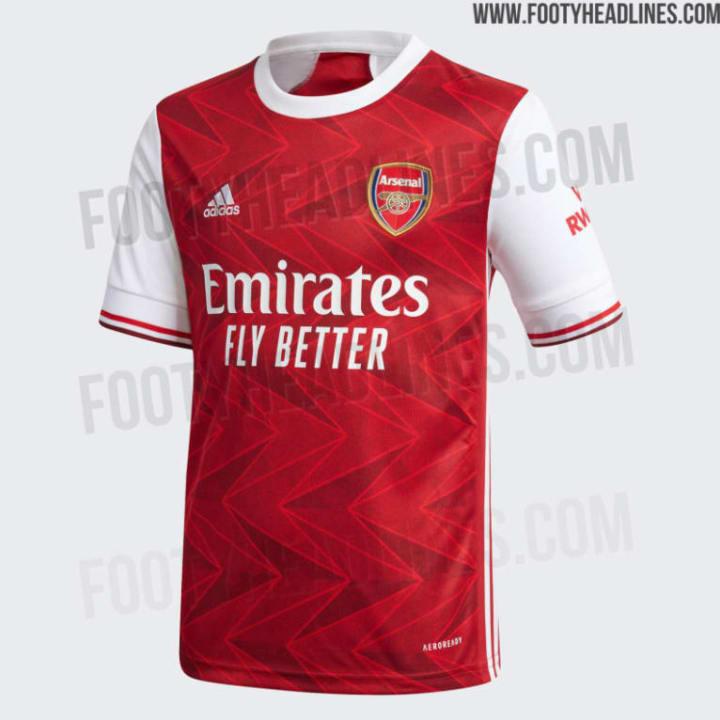 Arsenals Heimtrikot