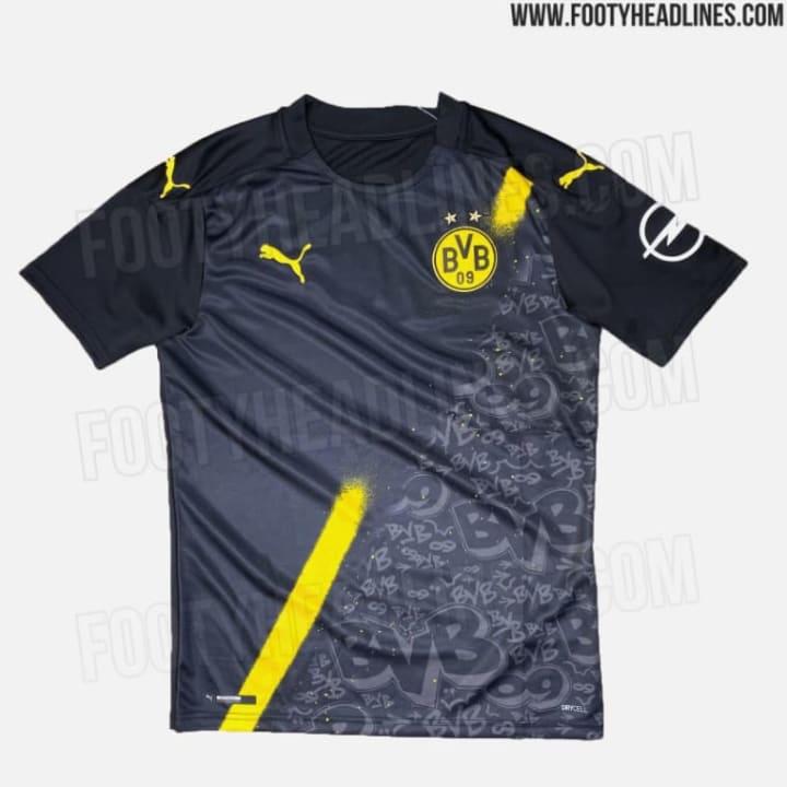 Dortmunds Auswärtstrikot