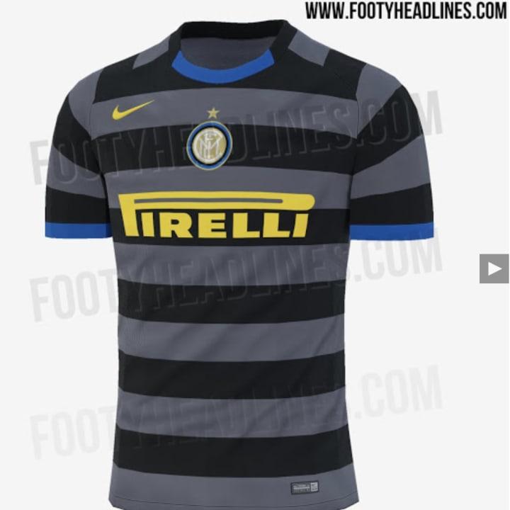 FOTO   Le anticipazioni sulla terza maglia dell'Inter per la ...