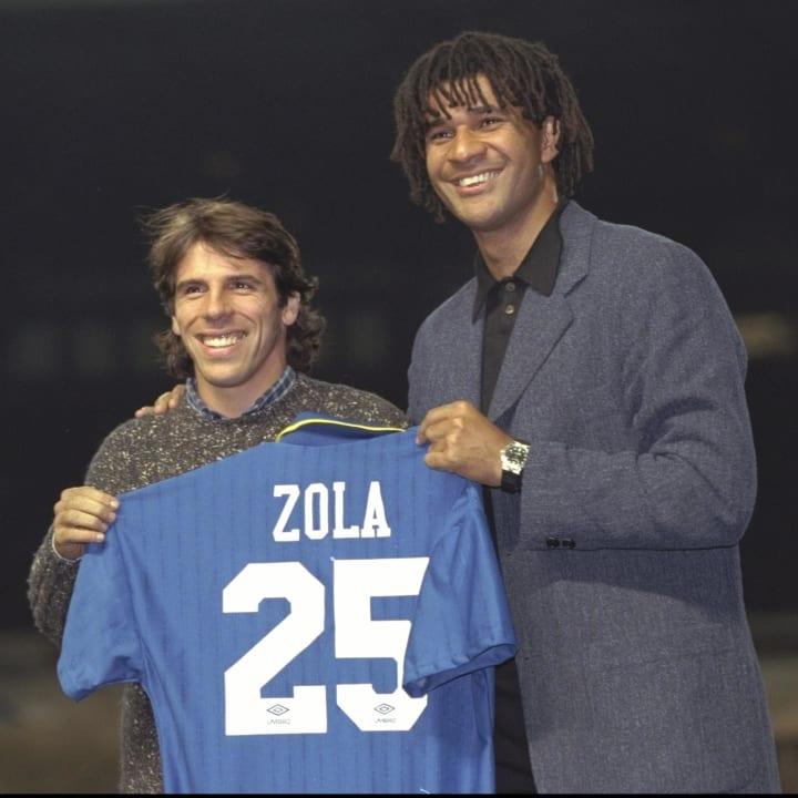 Gianfranco Zola, Ruud Gullit