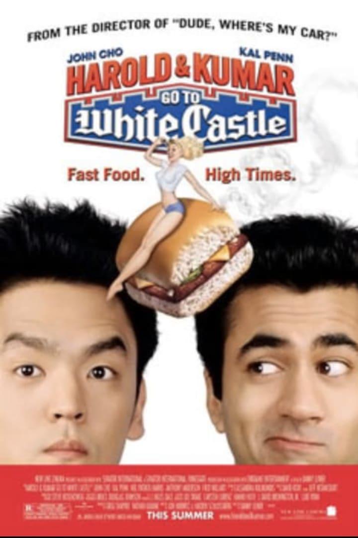 Movie poster for Harold & Kumar Go To White Castle
