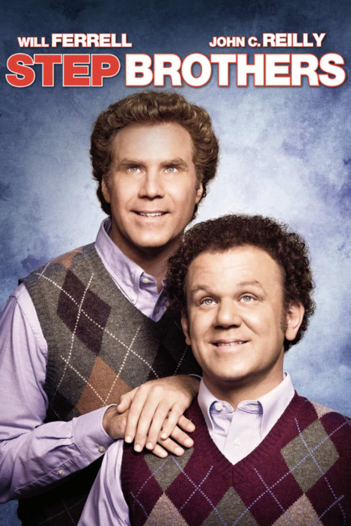 Movie poster for Step Brothers